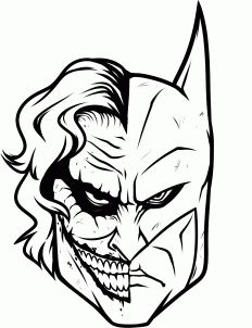 How to Draw Joker and Batman, Step by Step, Dc Comics