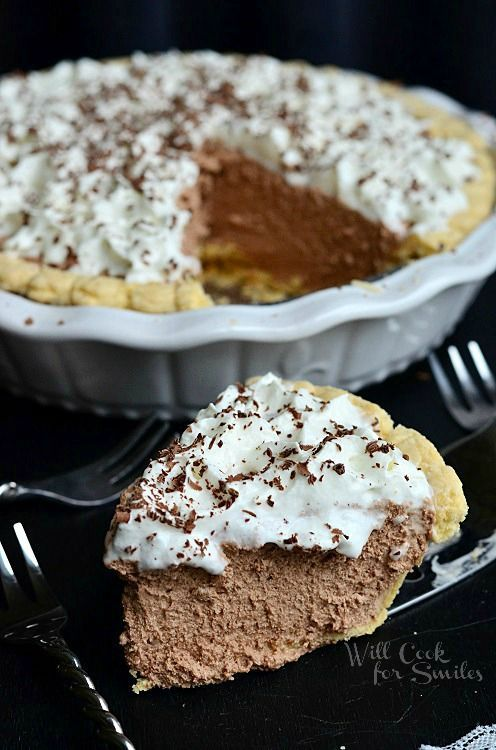 French Silk Pie 5 from willcookforsmiles.com #pie