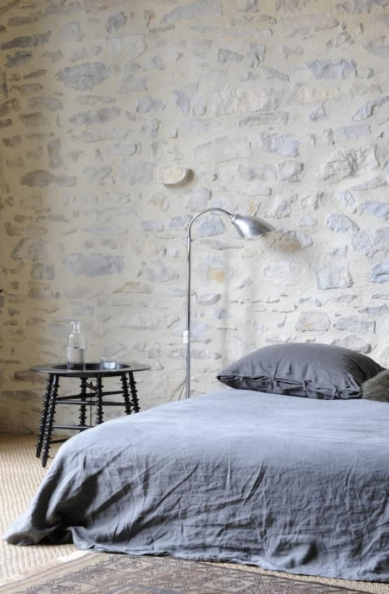 We want this color white wash on all the stone walls and the stones have to be placed this way