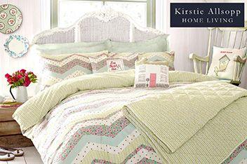 Kirstie allsopp abbie duvet cover 865653g78 40 70 for Garden rooms kirstie allsopp