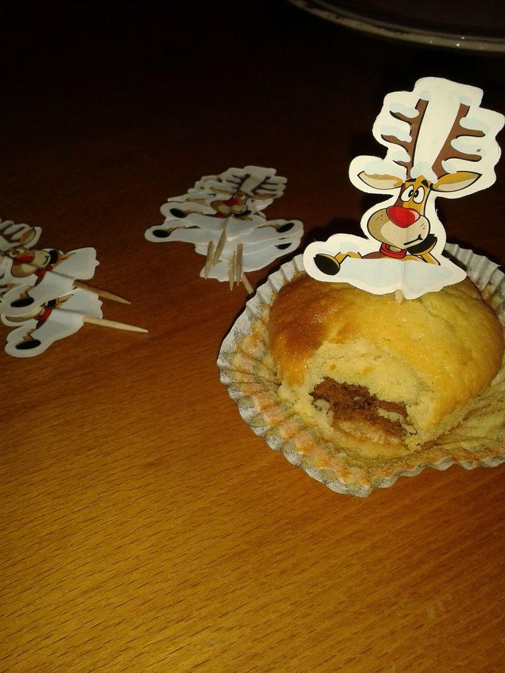 Τα Cupcakes της Pepis kitchen μεταμορφώθηκαν σε ταρανδομάφιν για τις ανάγκες του σχολικού μας bazaar!