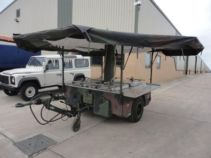 Army Mobile Kitchen Trailer For Sale