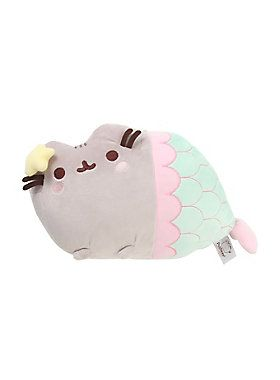 "<p>Awesome plush with Pusheen the cat as a magical mermaid - or should we say purrmaid. Meow!</p>  <ul> 	<li>12"" long</li> 	<li>Polyester fibers; polyurethane foam</li> 	<li>Imported</li> </ul>"