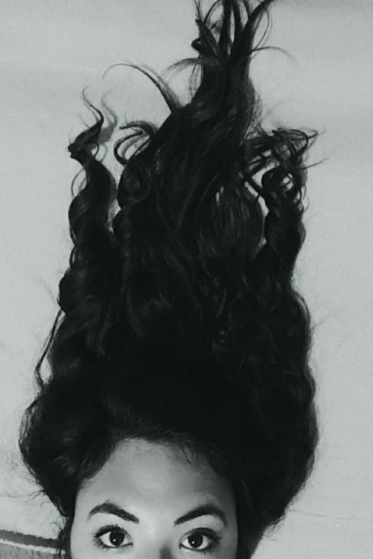 Black And white Hair  Wavy hair Curly hair