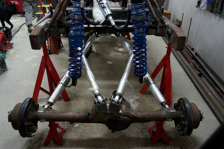 Rear Triangulated 4 Link Suspension With Fox 3 0 Coil