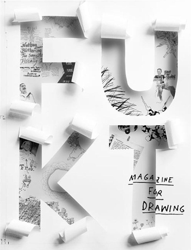 CoverJunkie where fantastic magazine covers and their creators are celebrated. layered FUKT magazine of contemporary drawing.