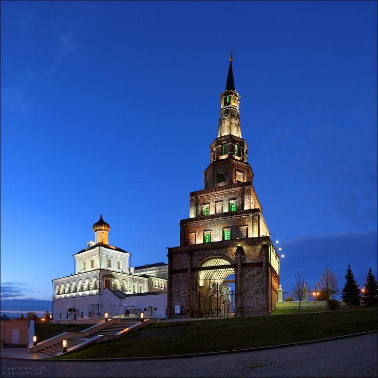 Казань. Башня Сююмбике.