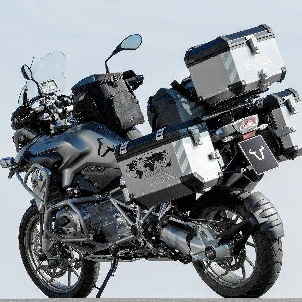 Dual Sport Motorcycle Luggage Bmw Adventure Bike Touring