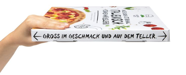 """Read more: https://www.luerzersarchive.com/en/magazine/print-detail/franco-fresco-gmbh-65182.html Franco Fresco GmbH The talking pizza boxes – these cartons have a lot to say. """"We only use mozzarella. Everything else is cheesy."""" """"Best before this date. Just in case you'll resist that long."""" """"The high art of a thin base."""" """"Big in taste. Big on plate."""" """"Our most prestigious ingredient: Quality."""" Tags: Markus Heumann,Leagas Delaney, Hamburg,Sebastian Weber,Dennis Lösel,Daniel Patterson,Franco…"""