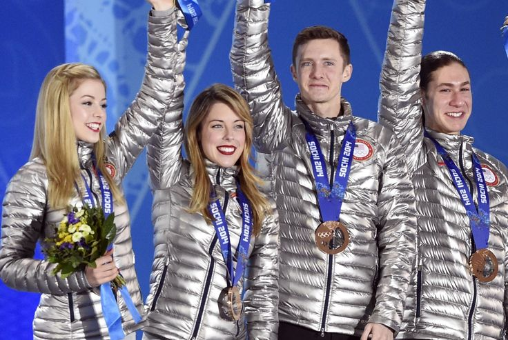 The Team USA Olympic podium jackets have secret messages, possibly magical