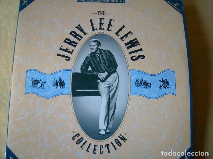JERRY LEE LEWIS COLLECTION LP DOBLE MADE IN GREAT BRITAIN 1988