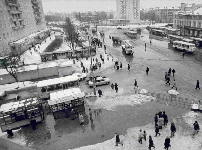 Центр Сормова. 1999 год.