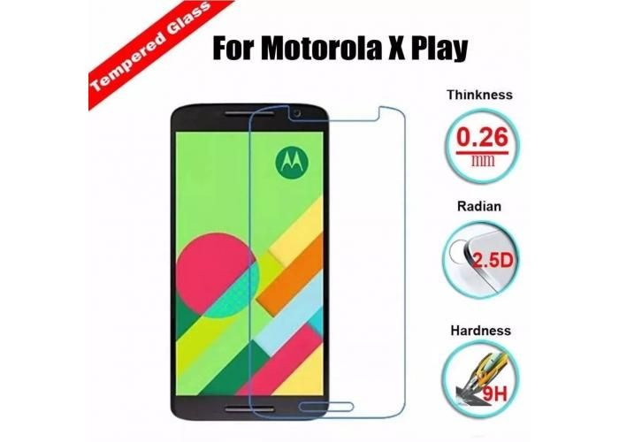 Guili Guili Fundas y Accesorios Para Smartphone: Mica Cristal Templado Moto X Play 5.5 Gorilla Glass 9H - Kichink