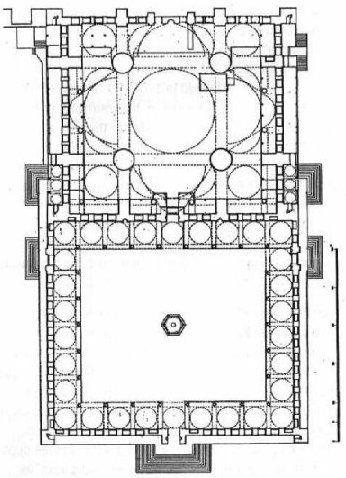 Blue Mosque Plan
