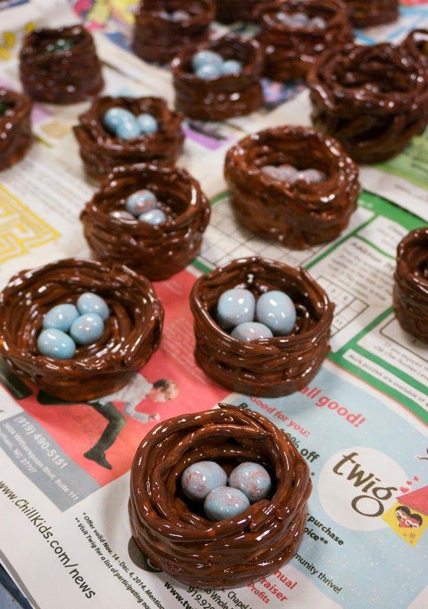 Mr. O's Art Room: 3rd Grade Ceramic Bird Nests