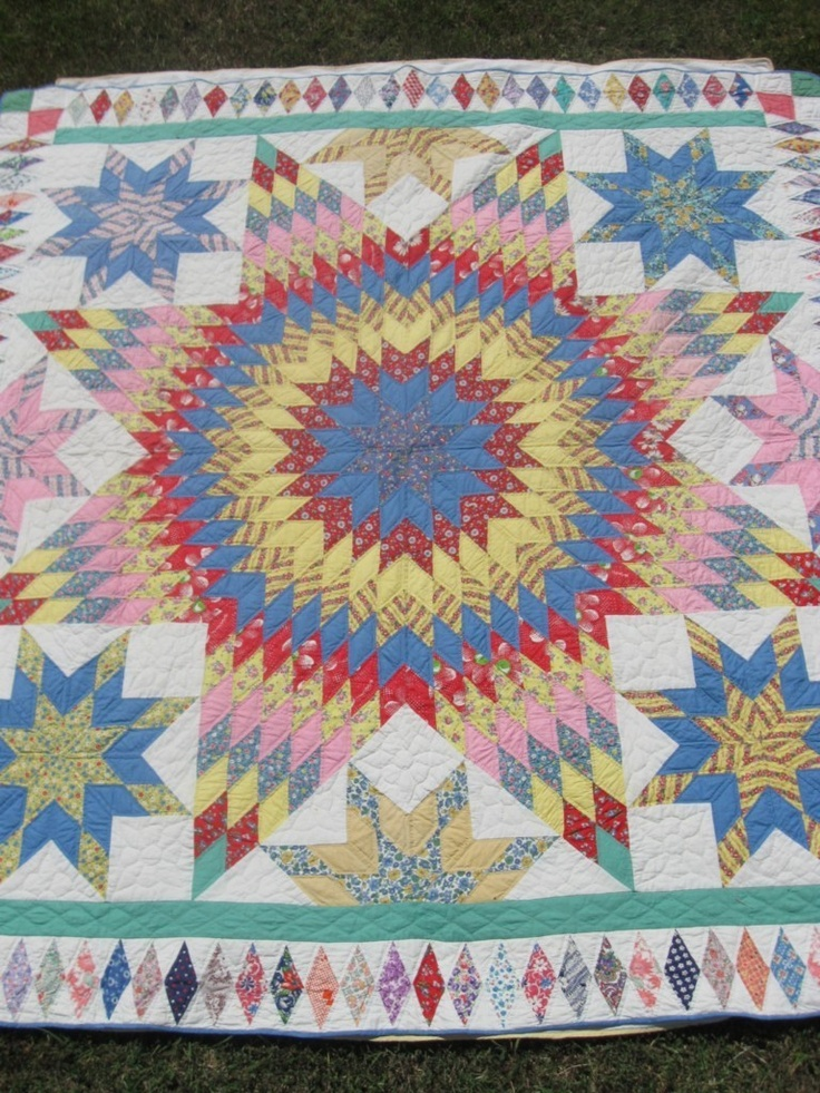 1000+ images about Lone Star Quilts on Pinterest Antique quilts, Quilt and Antiques