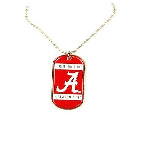 NCAA Officially licensed Dog Tag Necklace  http://allstarsportsfan.com/product/ncaa-officially-licensed-dog-tag-necklace/  Officially Licensed by the National FootBall Association (NFL) Back of dog tag is engravable. Vibrant colors of your favorite team on the dog tag.