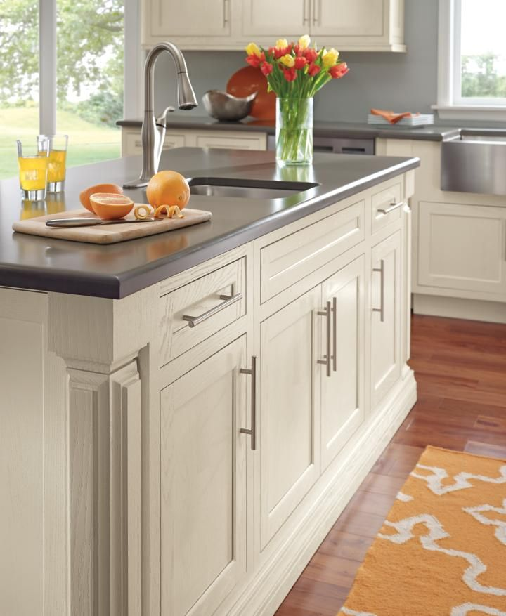 Beaded Kitchen Cabinets: Decora's Prescott Inset Cabinet Doors Shown On This