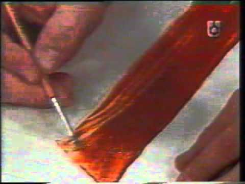 Willy Beruti enseña a pintar madera.flv