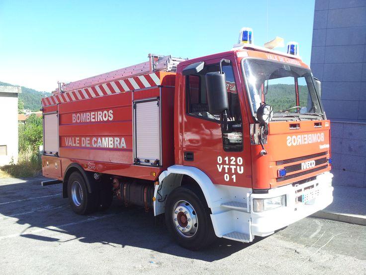 Bombeiros Voluntários de Vale de Cambra - 0120  VTTU 01 - Iveco 150E23B