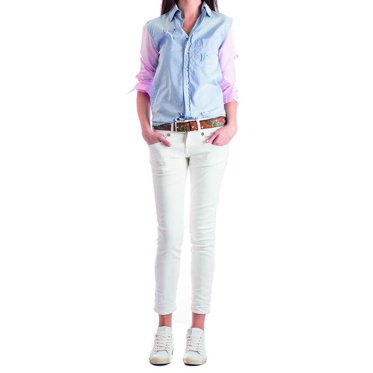 Chemise NSF CLOTHING NEWS Addict Store Sopping online :) chemise Nsf en coton bicolore ! NSF Clothing www.addictstore.fr
