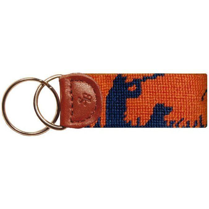 Bird Hunter Key Fob in Orange by Smathers & Branson  - 1