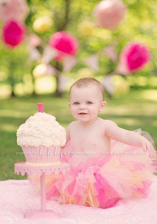 Kendalls 1st Birthday Photo Ideas Photography Birthday Cake