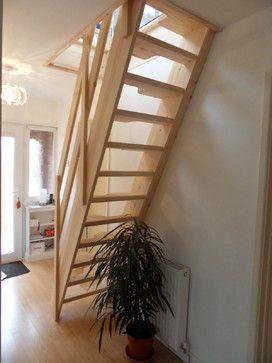 Loft Conversion Lounge contemporary-staircase