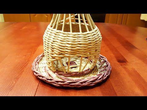 (16) Плетение гномодомика из газетных трубочек!Прямая трансляция! 1 часть. 20.07 - YouTube