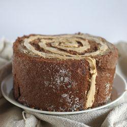 Chocolate Cake With Fleur De Sel Caramel Filling Recipe — Dishmaps