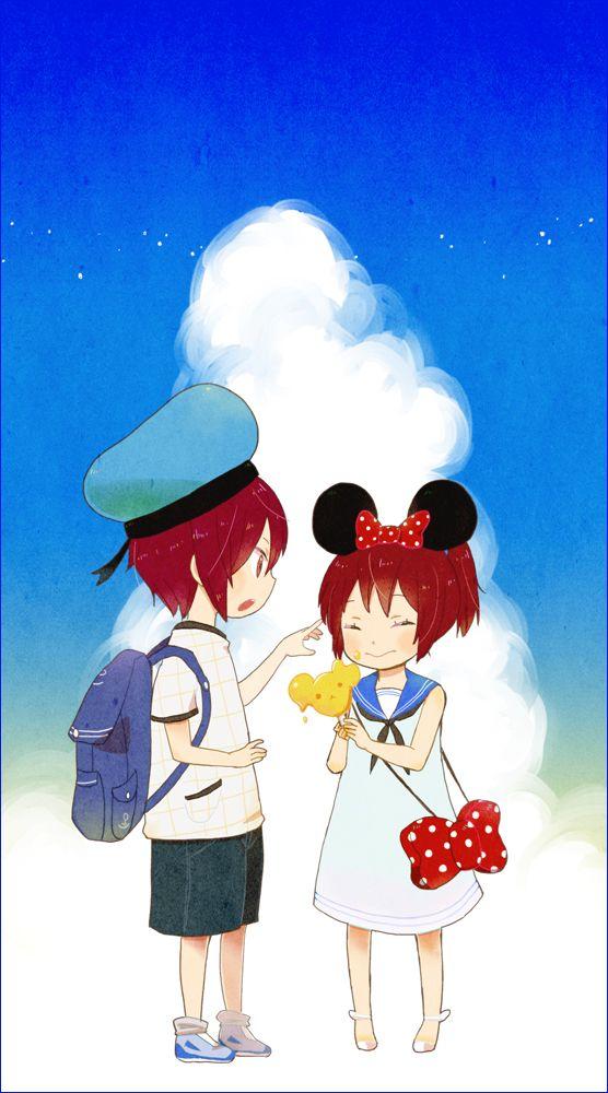 Matsuoka Rin & Matsuoka Gou - Free! Iwatobi Swim Club / Eternal Summer