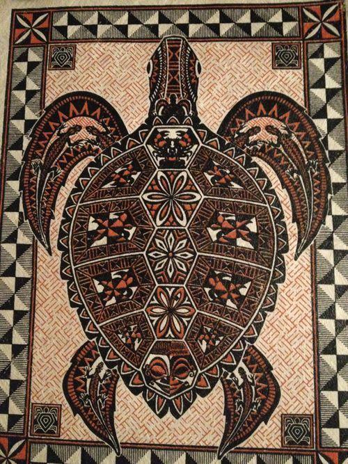 ephemeral art   tongan ink   polynesian art   Tumblr