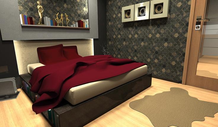 parkstudio kurumsal iç mekan tasarımı dahilinde ebeveyn yatak odası tasarımı. iç mekan olarak tasarım yapıldı & akabinde mobilya tasarım & uygulaması gerçekleştirildi.