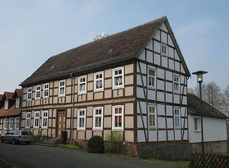 Wohnhaus Ernst-Thälmann-Straße 1 in Putlitz in Brandenburg, Deutschland