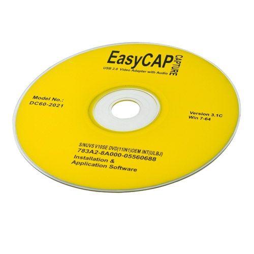 EasyCap USB 2.0 Video TV DVD VHS Audio Capture Adapter for Vista & Win 7 - Buy The Way