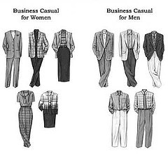 Today's Dance: What is 'Business Casual', Anyhow, and How Do You Wear It? - http://www.amnottheonlyone.com/todays-dance-what-is-business-casual-anyhow-and-how-do-you-wear-it/ How do you handle your workplace dress code?