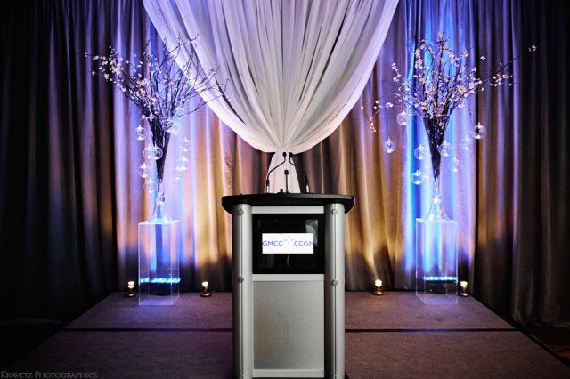 Luxurious backdrop design | Moncton Event NB | Unico Decor Inc