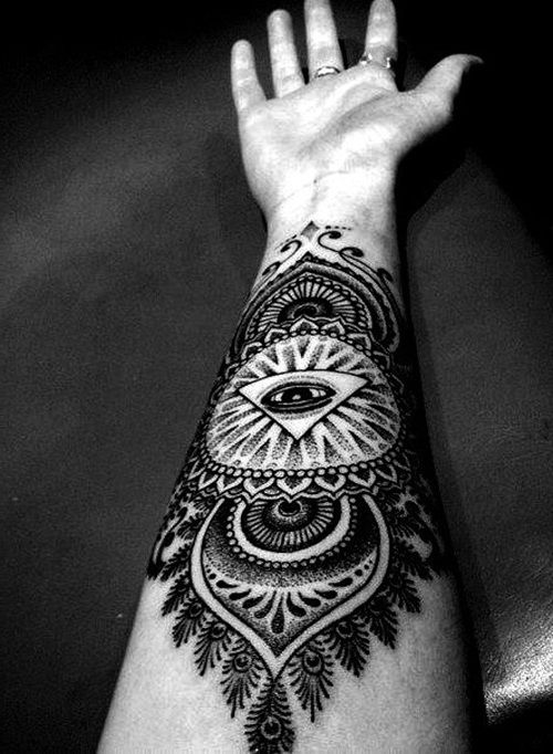 Pics Photos - Cool Tribal Forearm Tattoos For