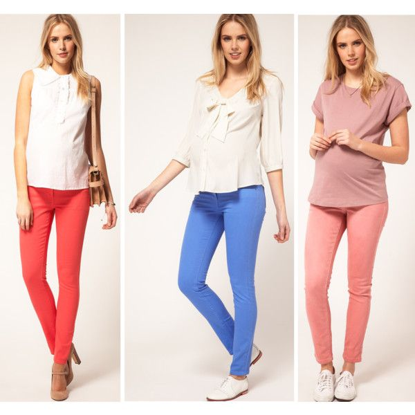 Bright Maternity Skinny Jeans