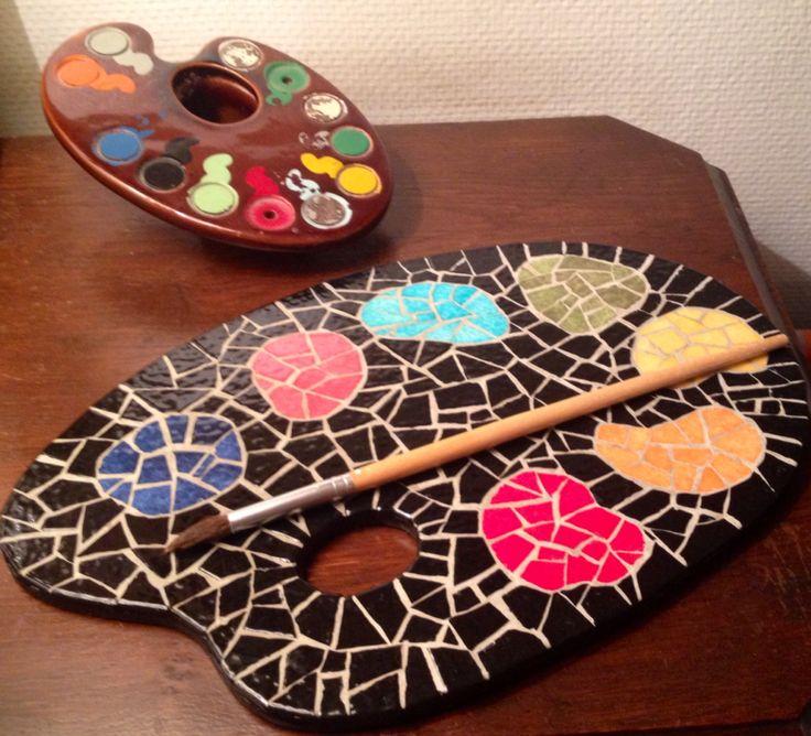 palette mosaïque
