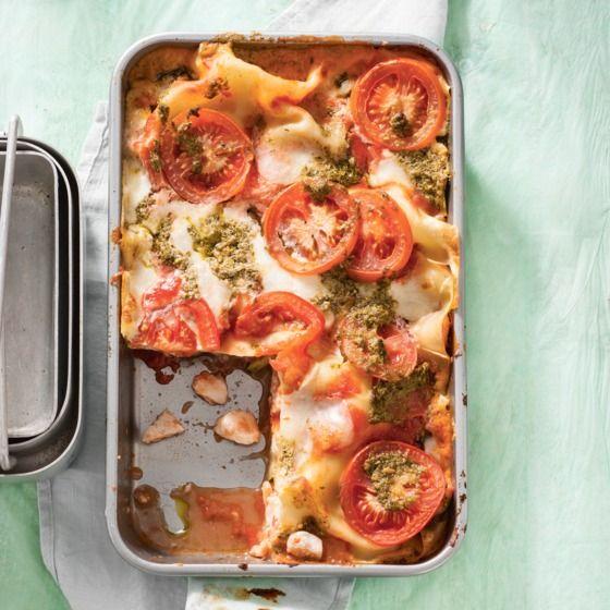 Het recept van de dag is: Snelle vislasagne met pesto!