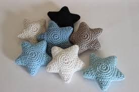 Billedresultat for hæklede stjerner