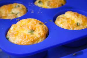 Egg muffins- naturally GF, high in protein, and can add all different veggies. yummm