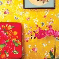 Pip Studio Chinese Rose Yellow
