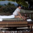 Enjoy a relaxing massage outdoors... #LV SPA | South Rhodes Greece
