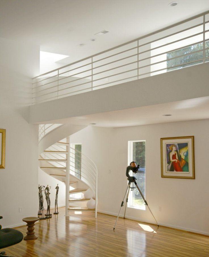 Les 25 meilleures id es de la cat gorie escalier h lico dal sur pinterest c - Plan escalier colimacon ...