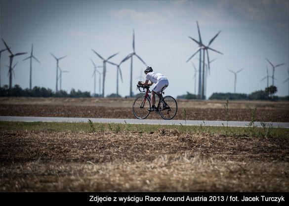 Zdjęcie z wyścigu Race Around Austria 2013. Polski Ultrakolarz! Teraz czas na Race Across America solo:) Projekt: https://polakpotrafi.pl/projekt/ultrakolarz  #crowdfunding #crowdfundingpl