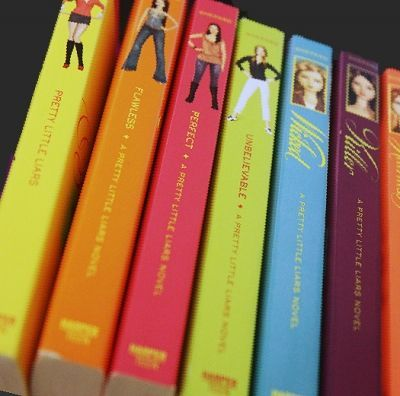 Pretty Little Liars Books In Order -will read these once the series is over