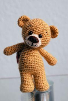 Teddy's - Jzamell Teddy's & Co. Amigurumi Teddy Bär mit Liebe gehäkelt