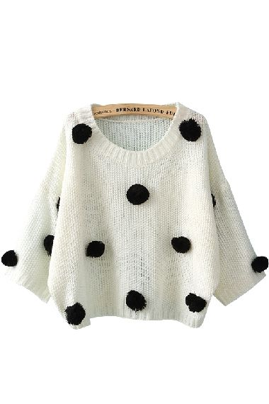 Pom Sweater